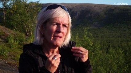 Climat : fonte du permafrost et des glaciers dans le Grand Nord suédois