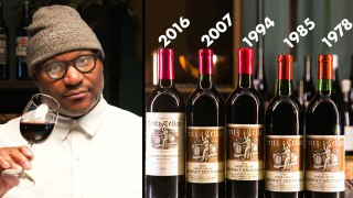 Sommelier Tastes the Same Wine at 5 Ages (1978-2016)