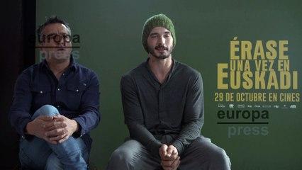 Manu Gómez y Yon González presentan 'Érase una vez en Euskadi'
