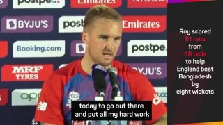 Roy hits 61 as England power past Bangladesh