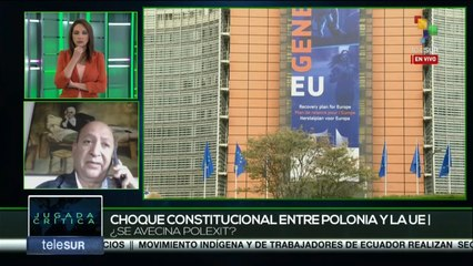 Jugada Crítica 27-10:Tratados de La Unión Europea  no son compatibles con Polonia