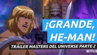 Masters del Universo: Revelación - Parte 2 tráiler