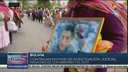 Víctimas de las masacres llegan a acuerdo con el Gobierno de Bolivia para alcanzar justicia