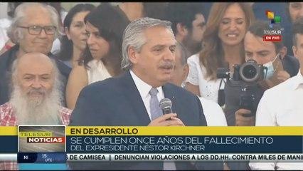 Fernández: No pensamos un país para pocos, pensamos un país para todos