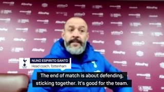 Nuno praises Spurs defence in Carabao Cup win
