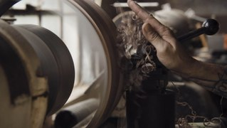 America's oldest drum factory uses century-old machines to turn wood planks into high-end instruments