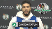 """Jayson Tatum Says Lack Of Focus Is """"On All Of Us."""" 