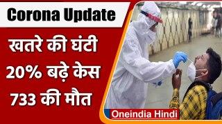 Coronavirus India Update: कोरोनावायरस के 16,156 नए केस, COVID19 Third Wave threat   वनइंडिया हिंदी