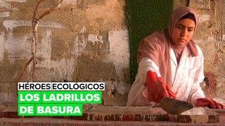 Héroes ecológicos: los ladrillos de basura