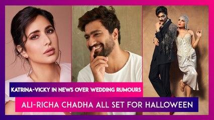 Katrina Kaif & Vicky Kaushal In The News Over Wedding Rumours; Ali Fazal & Richa Chadha Give Couple Goals With Halloween-Themed Photo Shoot