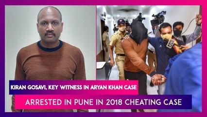 Kiran Gosavi, Key Witness In Aryan Khan Case Arrested In Pune In 2018 Cheating Case