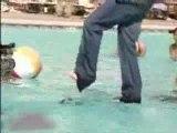 Chriss Angel marche sur l'eau