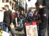 Milan-Arsenal: tifosi dei Gunners in Piazza Duomo