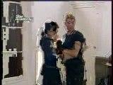 Star Academy 2001 cours acro au chateu Armando - Nathalie
