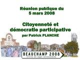20080305 Citoyenneté et démocratie participative