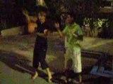 Danse avec Théo et G@by