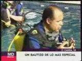 Bautizo buceo Oceania Madrid
