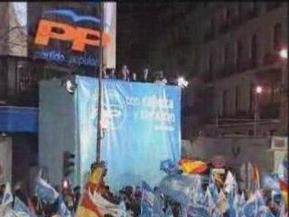 Discurso de Rajoy tras su derrota en las Elecciones 2008