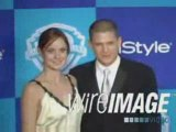 Wentworth miller sarah waynes callies  Golden Globes 2006 1