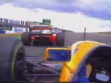 Ayrton Senna, Alain Prost & Michael Schumacher