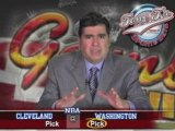 Cleveland Cavaliers @ Washington Wizards NBA B-ball Preview