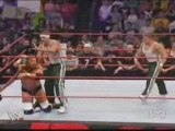 Wwe Raw The Spirit Squad Vs Triple H Hbk Help To Hhh