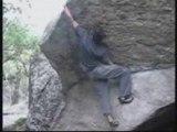 Boulder climbing escalade sur blocs
