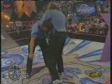 Randy Orton hits the RKO on Jake The Snake Roberts