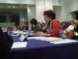 discours d'investiture de Christine Coulon élue LCR