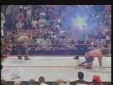 Shelton Benjamin & Shawn Michaels vs. Kurt Angle & Carlito