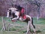 Pirouette en saut