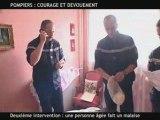petite video sur les sapeur pompier