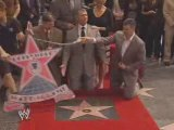 Mr. McMahon receives a star on the Hollywood Walk of Fame