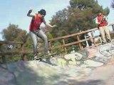 Bananas Flip Skateshop - Backside Flip to Tail  (16/03/08)