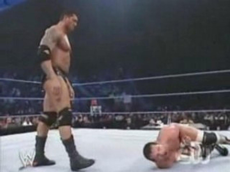 WWE Smackdown - Batista vs Jamie Noble