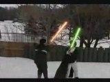 Star Wars Lightsaber Duel : Will Vs Sam V.1