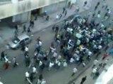 Cortège Rajaoui dans les rues de Casablanca