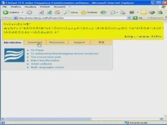 Convertire file flv in avi, mpg, psp, mp4, mp3 - lezione 1