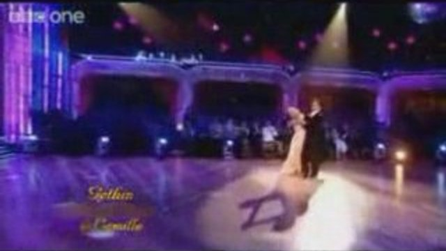 Gethin Dances The Waltz On Strictly Come Dancing