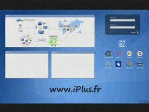 iPlus.fr - Système eyeOS avec Gmail, Yahoo, Hotmail,Myspace
