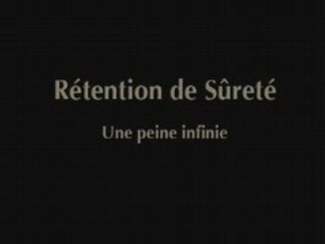 Rétention de Sûreté CHAP I