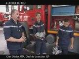Jeune sapeur pompier .