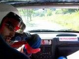 Rallye du trièves 2007 caméra embarquée 106 rallye N2