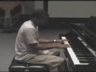 Coldplay - The Scientist on piano By David Sides