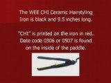 Chi Flat Iron Recall from Farouk