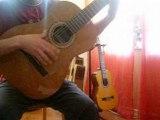 Trista pena  apprentissage flamenco rumba guitare