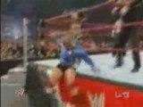 Ashley, Maria & King vs Melina, Beth & Santino - 3/25/08