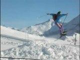 (1) Ski Orcières Merlette avec Véronique, Février 2008