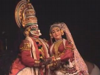 Kathakali (extraits, Compagnie Prana)