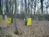 Paintball 3 vs 3 aie aie aie...